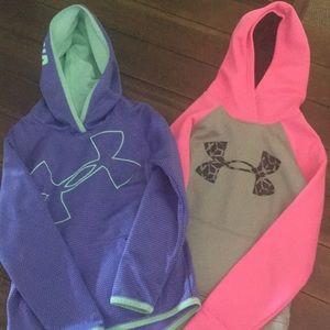 UA hoodies